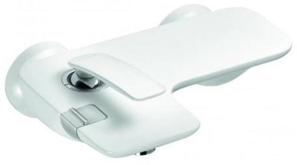 Смеситель для ванны Kludi Balance White 524459175 смеситель для биде kludi kludi balance 522169175
