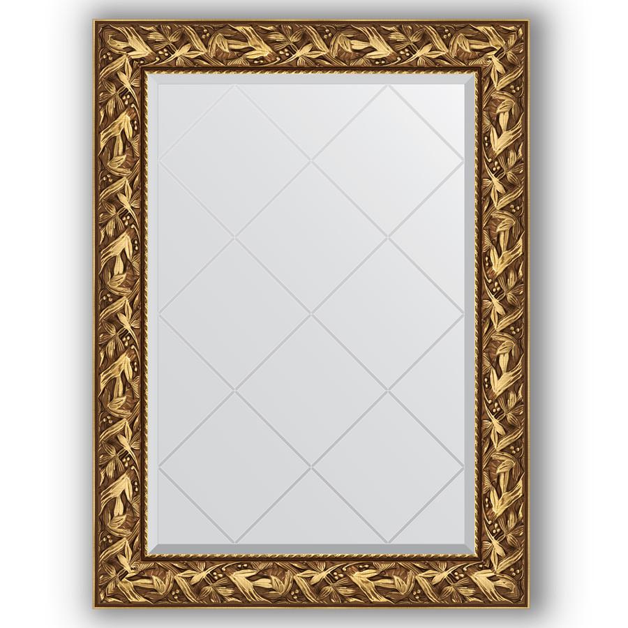 Зеркало 79х106 см византия золото Evoform Exclusive-G BY 4199