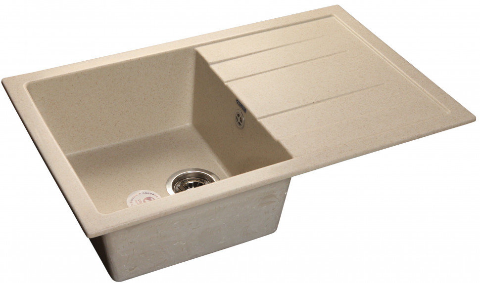 Кухонная мойка бежевый GranFest Quadro GF-Q780L цена
