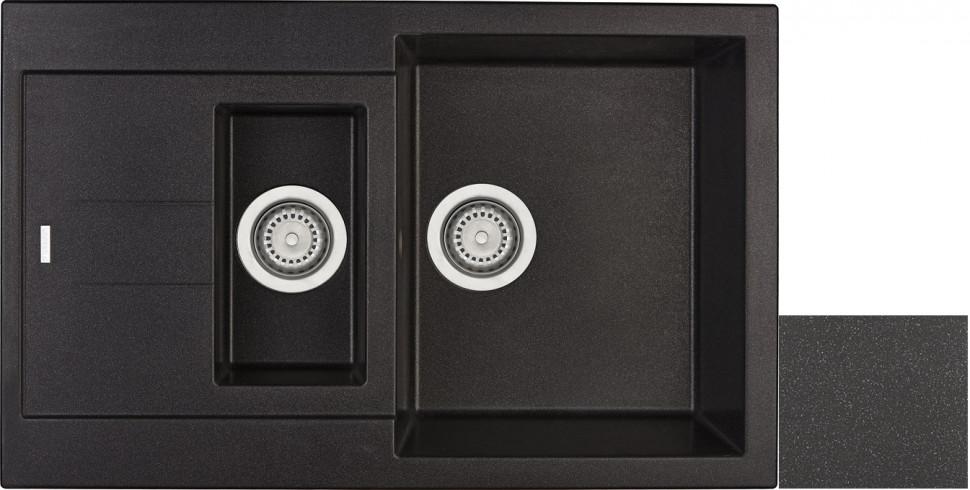 Кухонная мойка лава Longran Amanda AMG780.500 15 - 40