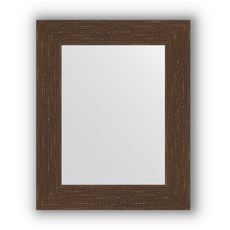 Зеркало 43х53 см мозаика античная медь Evoform Definite BY 3017 зеркало evoform definite 146х56 мозаика античная медь