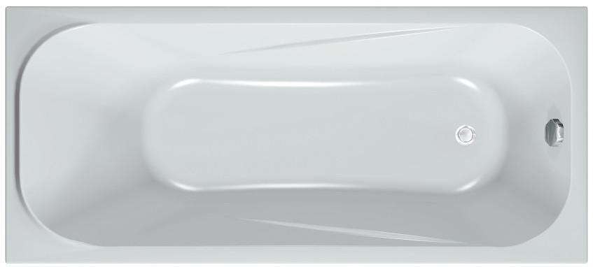 Акриловая ванна 160х70 см Kolpa San String Basis акриловая ванна с гидромассажем kolpa san string special 150x70 см на каркасе слив перелив