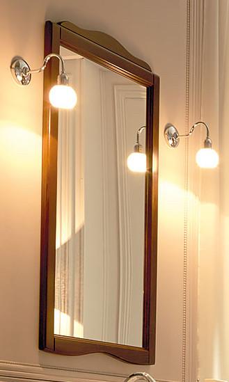 Зеркало 63х116 см орех Kerasan Retro 731340noce зеркало kerasan retro 731340 noce