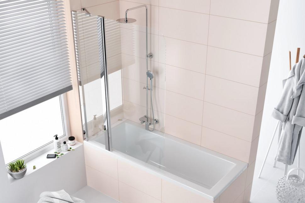 Шторка для ванны 100 см прозрачное стекло Excellent 900 KAAC.1609.1000LP сумка excellent joe uqyy 100%