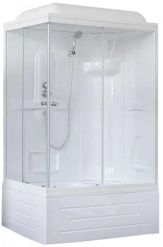 Душевая кабина 100х80х217 см Royal Bath RB8100BP1-T-R прозрачное
