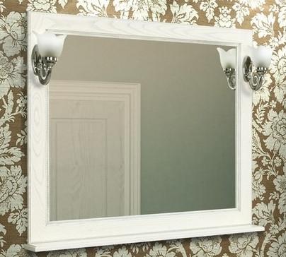 Зеркало Жерона 105 белое серебро Акватон 1A158802GEM20 цены