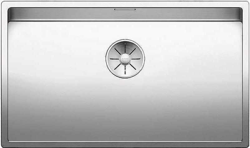 Кухонная мойка Blanco Claron 700-U InFino зеркальная полированная сталь 521581 кухонная мойка blanco claron 500 if infino зеркальная полированная сталь 521576