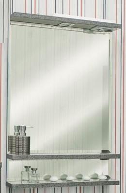 Зеркало 60х90 см венге серебряная патина Sanflor Румба H0000000163