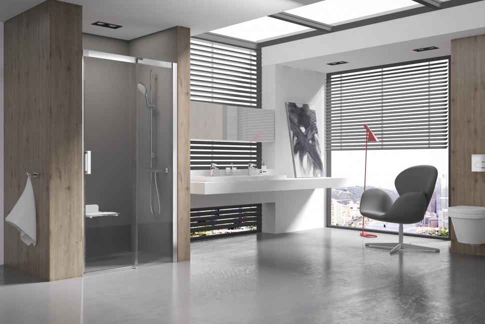 Душевая раздвижная дверь Ravak Matrix MSD2 120 R блестящий Transparent 0WPG0C00Z1 фото