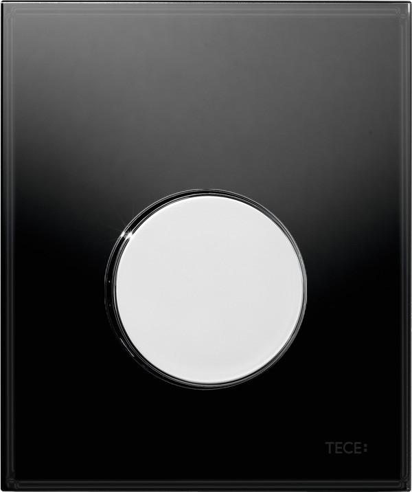 Смывная клавиша для писсуара TECE TECEloop черный/глянцевый хром 9242656 клавиша смыва tece loop 9242656