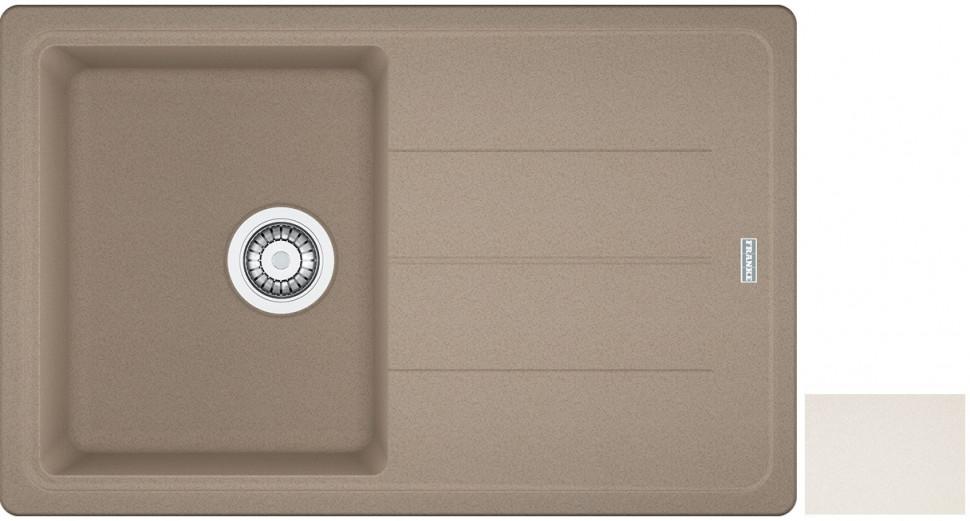 Кухонная мойка Franke Basis BFG 611 ваниль 114.0296.630 franke 750 ваниль