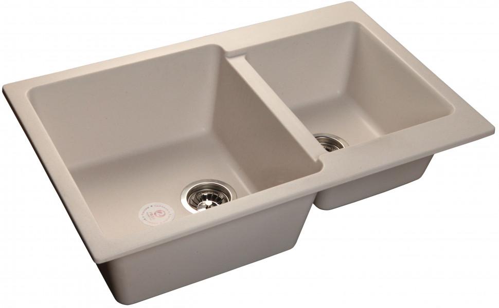 Кухонная мойка белый GranFest Practic GF-P780K цены