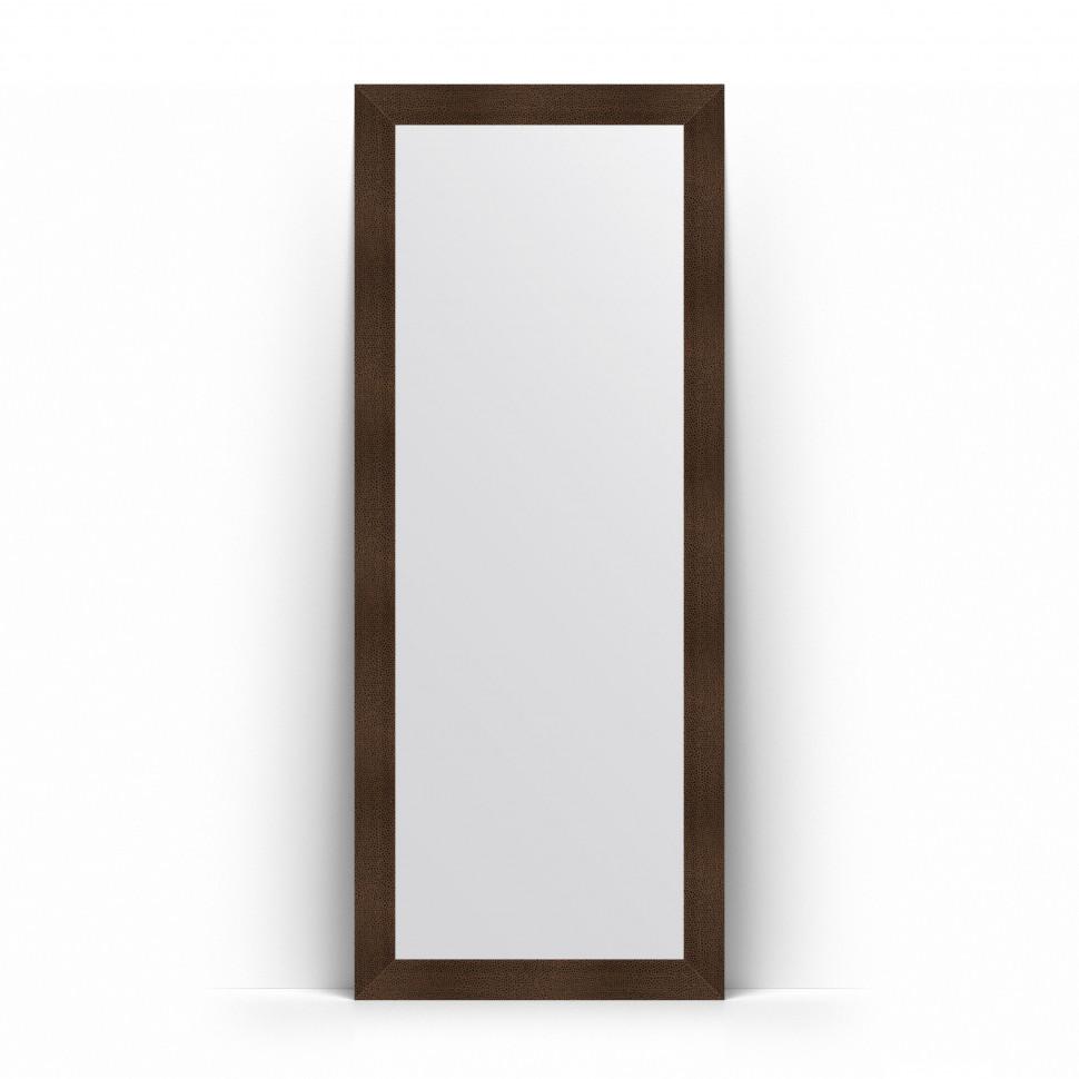 Фото - Зеркало напольное 81х201 см бронзовая лава Evoform Definite Floor BY 6010 зеркало напольное 81х201 см чеканка золотая evoform definite floor by 6008