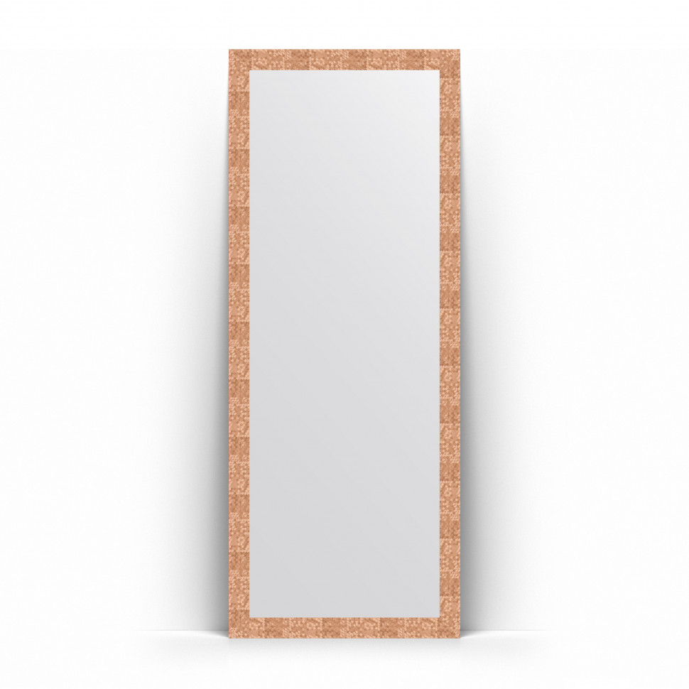 Зеркало напольное 78х197 см соты медь Evoform Definite Floor BY 6004 зеркало evoform definite floor 197х108 соты алюминий