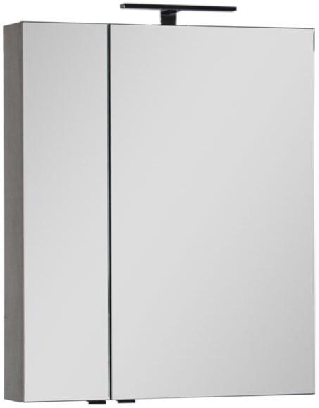 Зеркальный шкаф 69,8х85 см дуб антик Aquanet Эвора 00182997