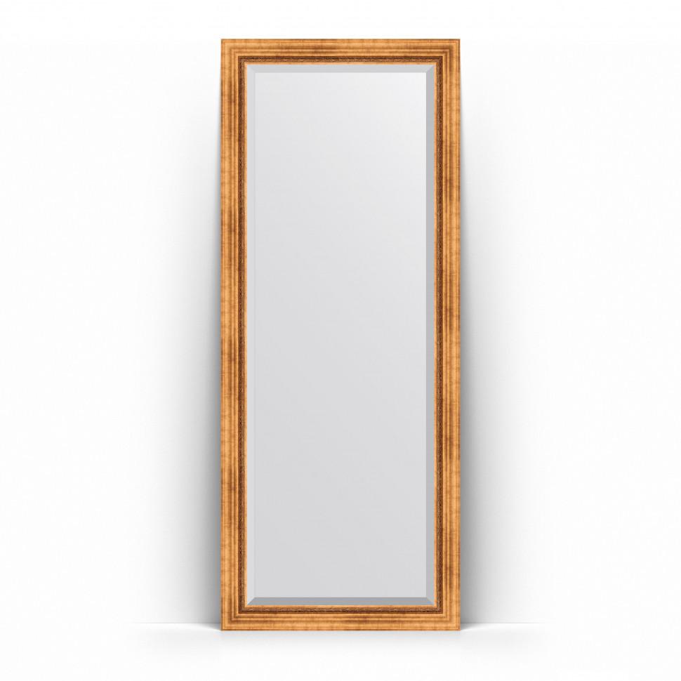 Фото - Зеркало напольное 81х201 см римское золото Evoform Exclusive Floor BY 6117 зеркало напольное 81х201 см чеканка золотая evoform definite floor by 6008