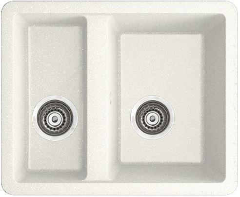 Кухонная мойка белый IDDIS Tanto TU4W565I87
