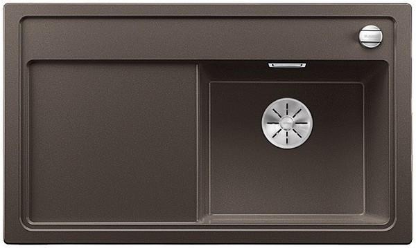 купить Кухонная мойка Blanco Zenar 45 S-F InFino кофе 523799 дешево
