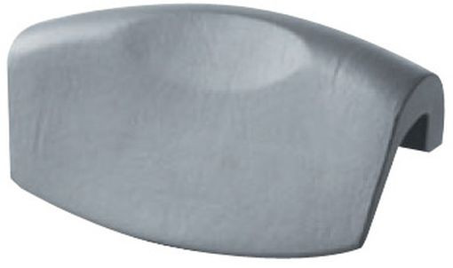 Фото - Подголовник для ванны серебристый Riho AH04115 подголовник для ванны черный riho ah07110