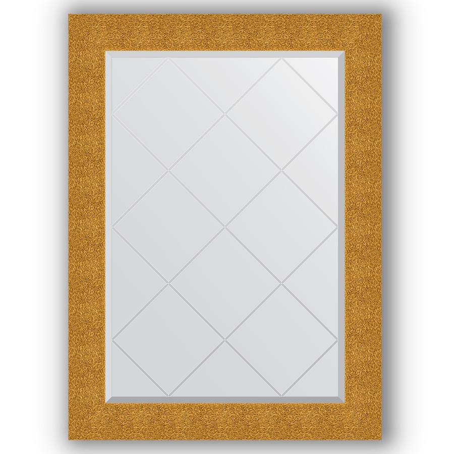 Зеркало 76х104 см чеканка золотая Evoform Exclusive-G BY 4194