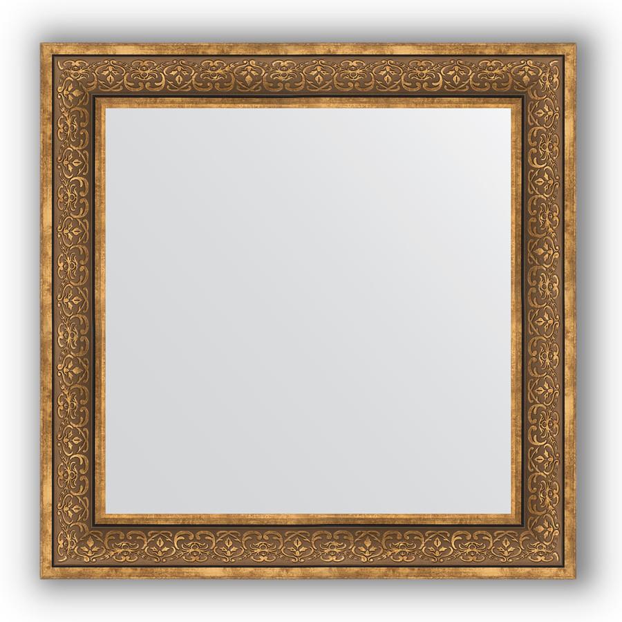 Зеркало 83х83 см вензель бронзовый Evoform Definite BY 3255 зеркало evoform definite 153х63 вензель бронзовый