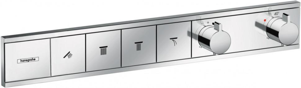 Термостат для 4 потребителей Hansgrohe RainSelect 15382000