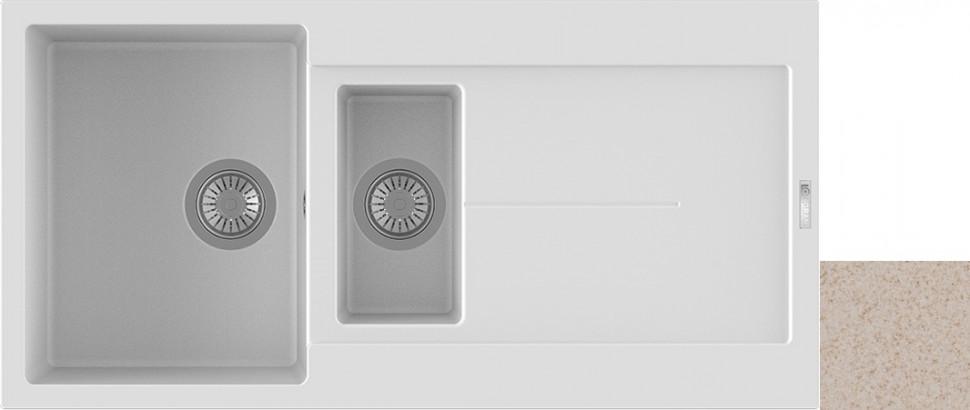 Кухонная мойка саббиа Longran Enigma ENG1000.500 15 - 58 цена
