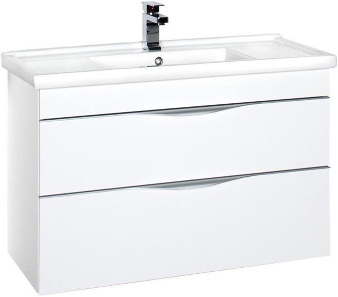 цены Тумба белый 95,5 см Aquanet Эвора 00185195