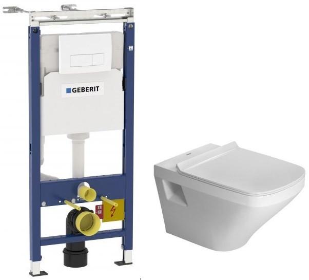 Комплект подвесной унитаз Duravit Durastyle 2536090000 + 0063790000 + система инсталляции Geberit 458.125.11.1 фото