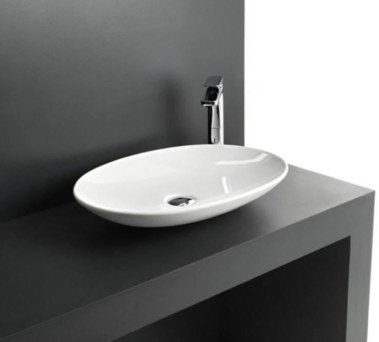Раковина чаша 60х42 см Artceram La Fontana LFL0010100bi*0 раковина artceram la fontana 60 lfl001 01 00 белая