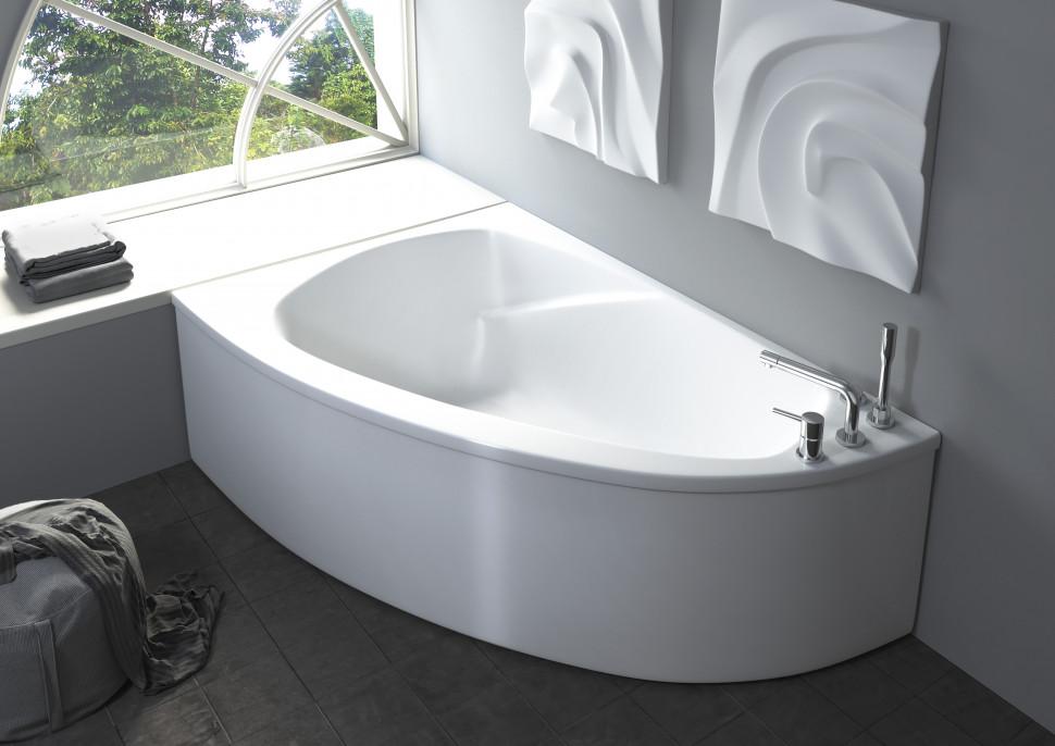Ванна из литого мрамора 154,5х105 см Astra-Form Тиора 010122