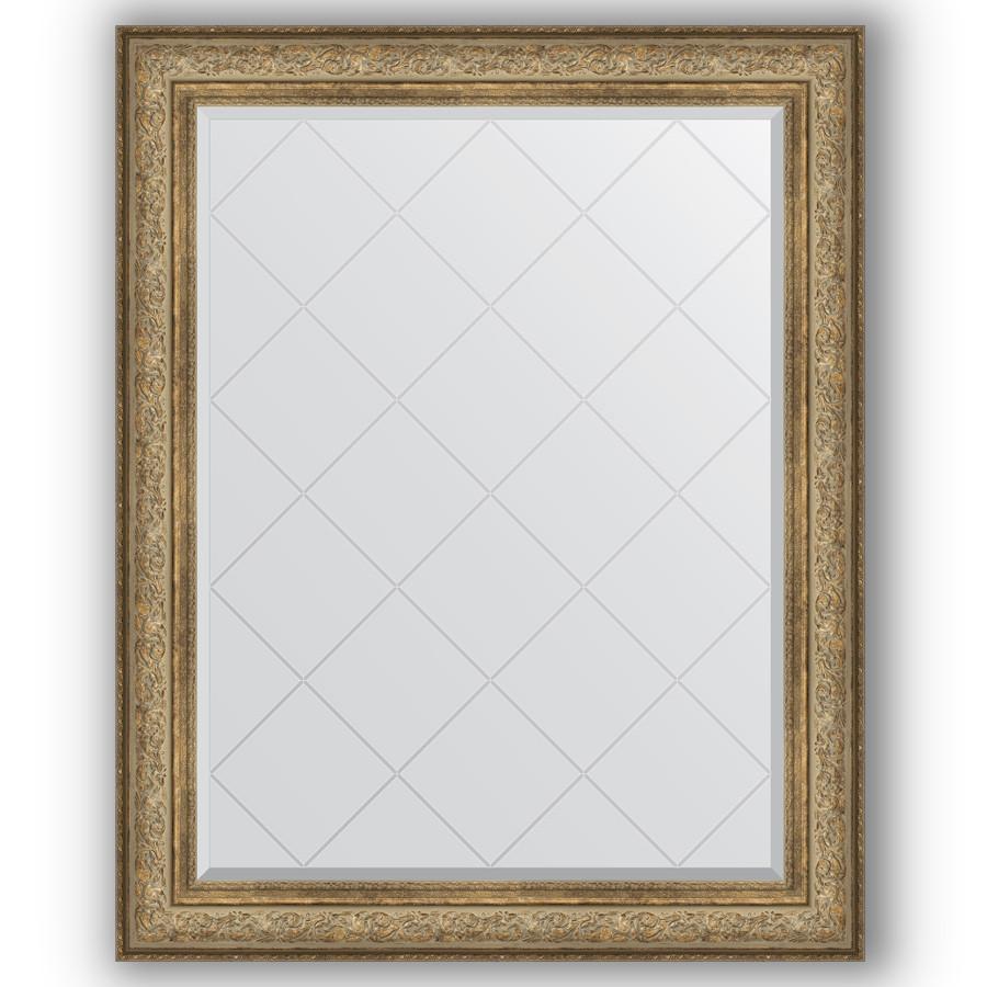 Фото - Зеркало 100х125 см виньетка античная бронза Evoform Exclusive-G BY 4382 зеркало 75х130 см виньетка античная бронза evoform exclusive g by 4230