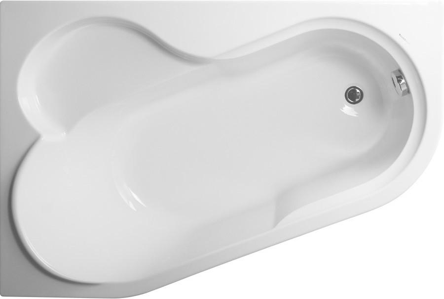 Акриловая ванна 147х100 см L Vagnerplast Selena VPBA141SEL3LE-04 акриловая ванна 160х105 см l vagnerplast selena vpba163sel3lx 04