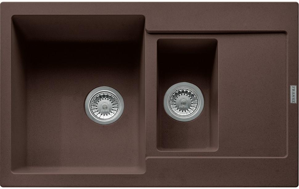 Фото - Кухонная мойка Franke Maris MRG 651-78 шоколад 114.0198.351 кухонная мойка franke maris mrg 611d шоколад