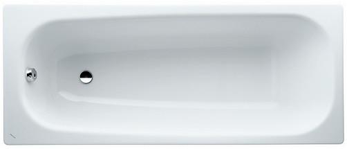 Стальная ванна 150х75 см с отверстиями для ручек Laufen Pro 2229530000401 цена