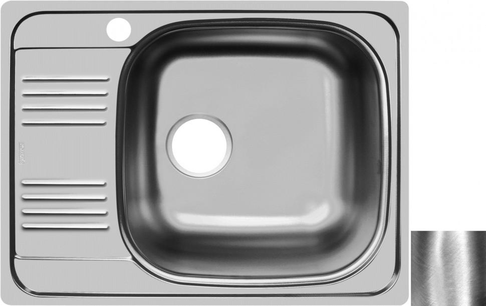Кухонная мойка полированная сталь Ukinox Гранд GRP652.503 -GT8K 1R ukinox fal510 gt8k 0c