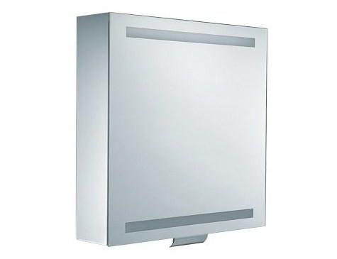 Зеркальный шкаф с люминесцентной подсветкой 65х65 см Keuco Edition 300 30201171201 зеркальный шкаф bellezza миа 85 с подсветкой l белый