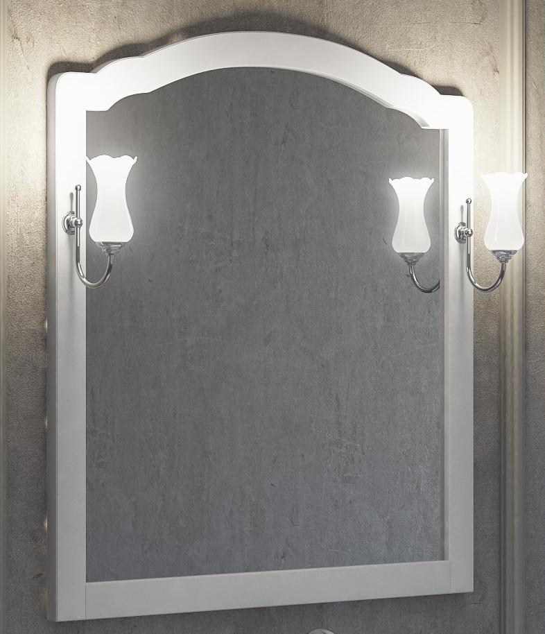Зеркало 96х103,1 см белый матовый Smile Империал IMPERIAL100ZW