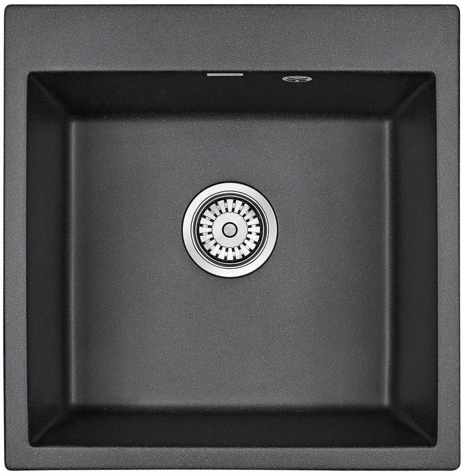Кухонная мойка Paulmark Praktisch черный PM105152-BL