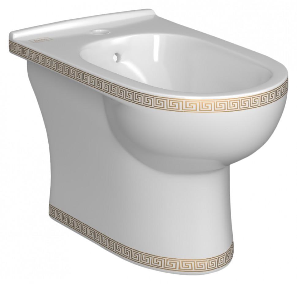 лучшая цена Биде напольное Della Globus версаче золото DE3114000018