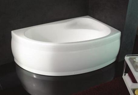 Акриловая ванна 155х100 см L Kolpa San Romeo Quat акриловая ванна kolpa san voice quat 150x95 r air