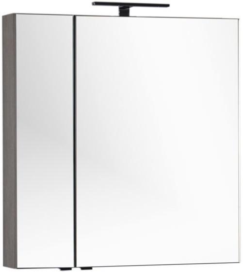 Зеркальный шкаф 79,8х85 см дуб антик Aquanet Эвора 00182741