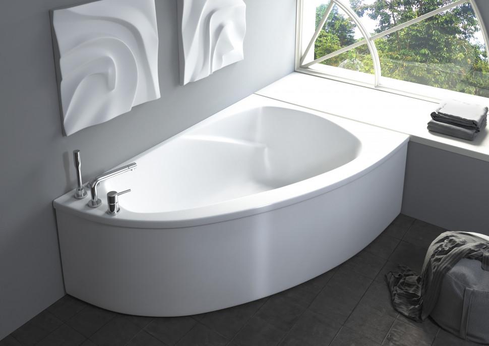 Ванна из литого мрамора 154,5х105 см Astra-Form Тиора 010123
