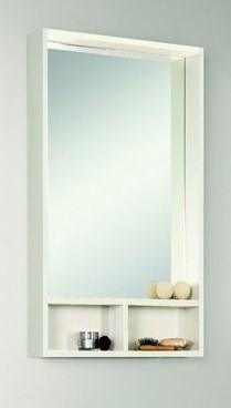 Зеркальный шкаф Йорк 60 Белый глянец/Выбеленное дерево Aquaton 1A170102YOAY0 aquaton логика 110 венге белый