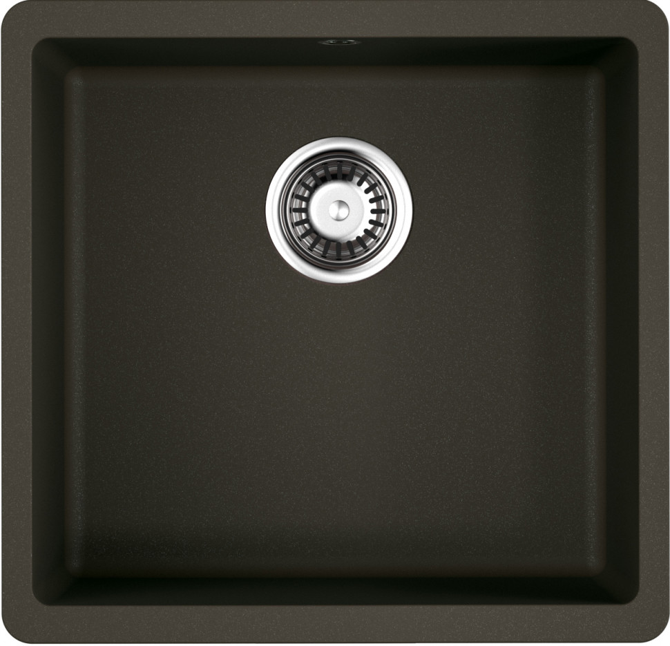 Кухонная мойка темный шоколад Artgranit Omoikiri Kata 44-U-DC