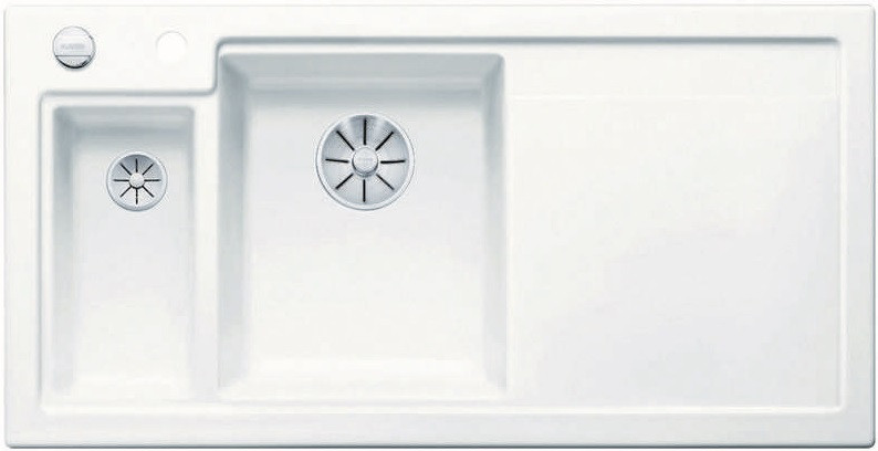 Кухонная мойка Blanco Axon II 6S InFino глянцевый белый 524138 кухонная мойка blanco axon ii 6s infino матовый белый 524142