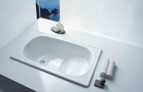 Стальная сидячая ванна 105х70 см BLB Europa Mini B05E цена