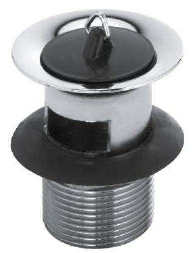 Фото - Донный клапан с переливом Kludi 1042705-00 донный клапан с переливом raiber rlbt 58