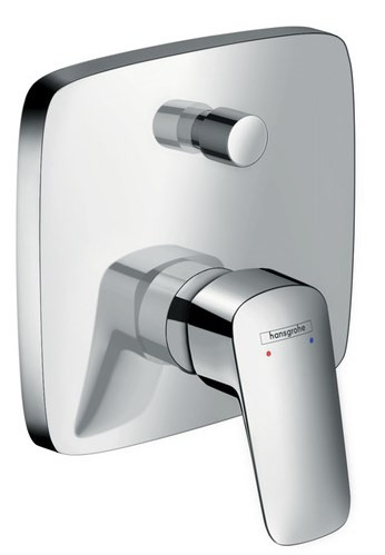 Cмеситель для ванны Hansgrohe Logis 71405000 смеситель для душа hansgrohe logis 71405000 хром