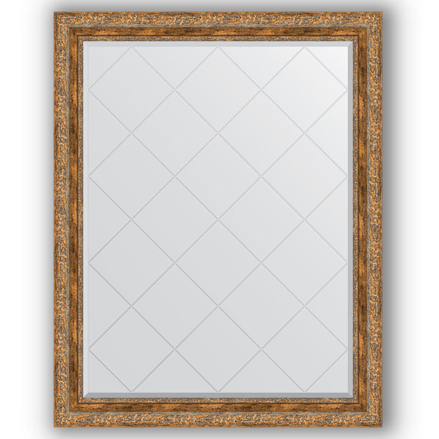 Фото - Зеркало 95х120 см виньетка античная бронза Evoform Exclusive-G BY 4359 зеркало 75х130 см виньетка античная бронза evoform exclusive g by 4230